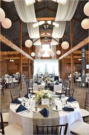 navy and white wedding decor with a splash of burlap check out