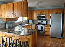 Hardwood Floors In Kitchens The Craft Patch Living Kitchen Dining Remodel Phase 1 Is Done