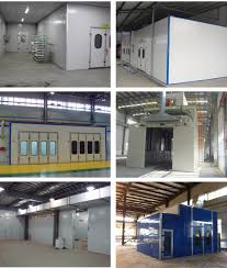 spray paint booth car spray paint booth with top quality ventilation system with ce