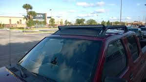 How To Install Led Light Bar On Roof by Video Of My Led Light Bar Install Nissan Frontier Forum