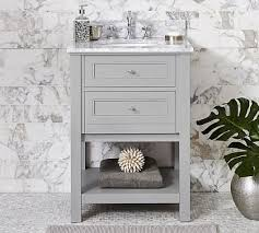 carrara marble console sink carrara marble sink pottery barn