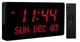 digital alarm clock large display big time clocks super large led