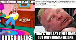 top 15 brock lesnar memes that are savage af thesportster