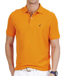 nautica pique solid deck polo shirt