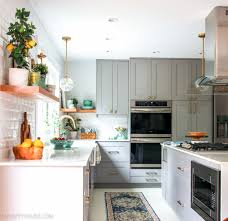 gray walls with stained kitchen cabinets 20 fabulous kitchens featuring grey kitchen cabinets the