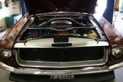 67 Mustang Black 67 68 Mustang Black Aluminum Billet Grille