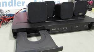 rca home theater system auction 1768990 rca dvd player with speakers youtube