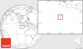 blank location map of christmas island