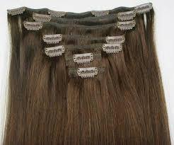 hair clip rambut asli rambut sambung zitarustami
