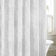 Gray Paisley Shower Curtain by Shower Curtains Nautica Shower Curtains Pictures Of Curtains