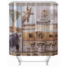 popular wildlife bathroom buy cheap wildlife bathroom lots from 3d 180 x180cm wildlife animal world shower curtain bathroom products creative bath curtain cortina de bano