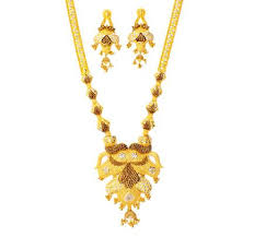 ladies gold necklace images Designer gold necklace set in thiruvananthapuram kerala prince jpg