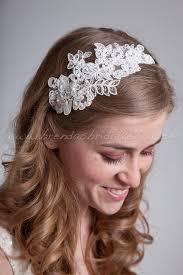 lace headbands items similar to bridal lace headband wedding lace headband