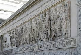 Screen Decoration At Back Of Altar Ara Pacis Article Early Empire Khan Academy