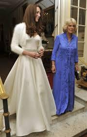 Alexander Mcqueen Wedding Dresses Kate Middleton Steps Out In Her Second Sarah Burton For Alexander