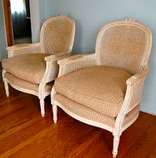Animal Print Furniture Home Decor by Refurbishing Cane Bergere Chairs With Gold And Leopard Print
