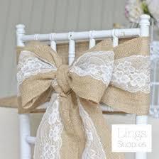 burlap chair sashes discount hessian chair sashes 2017 hessian wedding chair sashes