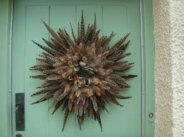 white feather wreath how to make feather wreath u2013 home design by