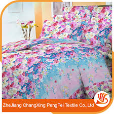 Bedding Set Manufacturers Buy Cheap China Printed Flower Bedding Set Products Find China