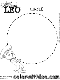 print free coloring pages shapes kids