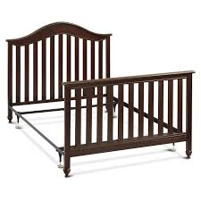 Convertible Crib Full Size Bed by Metal Bed Frame Full Twin Size Headboard Footboard Conversion