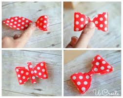 Gift Wrapping Bow Ideas - diy gift wrap bows with duct tape christmas gifts holidays