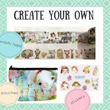 things to do with washi tape mindy lacefield create your own washi tape stickers and pouches