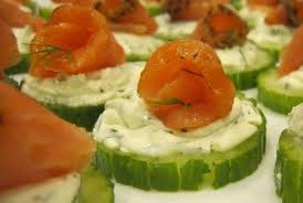cucumber canapes smoked salmon cucumber canapés s pantry
