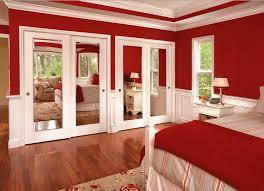 Mirrored Bifold Doors For Closets Mirrored Closet Doors Interior Doors And Closets