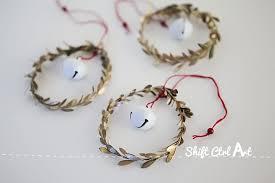jingle mingle leaf and jingle bell ornaments