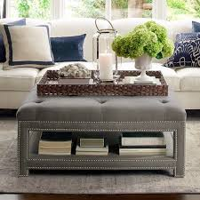 Ottoman Ideas Marvellous Trays For Coffee Table Ottomans 79 For Home Decorating