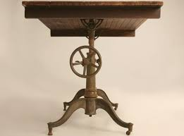 Antique Drafting Table Craigslist Furniture Intriguing Antique Cast Iron Drafting Table Antique