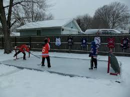 backyard homemade hockey rink is dream come true nbc 10 philadelphia