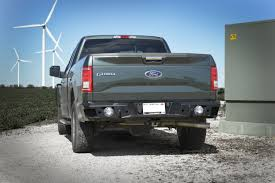 Classic Ford Truck Bumpers - 2015 2016 ford f150 signature series heavy duty rear bumper rear