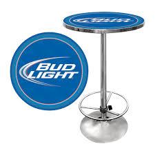 bud light bar light bud light bar table 42in h www kotulas com free shipping
