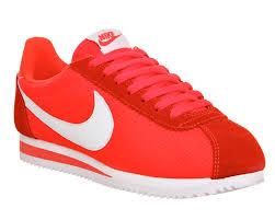 imagenes tenis nike cortes nike cortez nylon bright crimson white w vc 2037662137