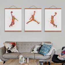 Painting Home by Online Get Cheap Basketball Wall Art Aliexpress Com Alibaba Group