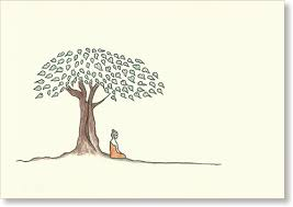 sideview bodhi tree small size 3 5 x 5 sold out single