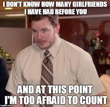 Girlfriends Meme - afraid to ask andy meme imgflip