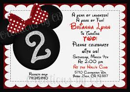 mickey mouse 2nd birthday invitations doc mickey mouse birthday invitation wording u2013 mickey mouse