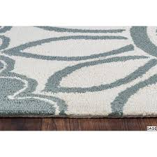 Rizzy Home Rugs Rizzy Home Azzura Hill Collection Multicolored Feather Area Rug 3