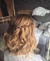 tutorial rambut waterfall curly waterfall braid on short hair catherine s hair for my