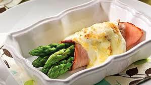 cuisiner asperges rouleaux d asperges et jambon au gratin