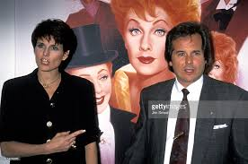 lucy arnaz today lucie arnaz and desi arnaz jr during lucy a tribute to lucille ball picture id115409266