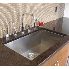 single bowl kitchen sink 36 inch stainless steel undermount single bowl kitchen sink zero