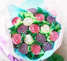 cupcake flowers vanilla cupcake bouquet recipe food
