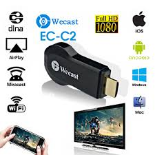 wecast c2 single frequency miracast hdmi dongle smart android