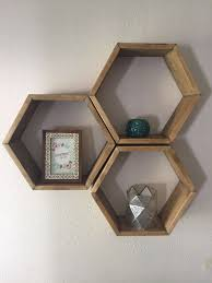 best 25 hexagon wall shelf ideas on pinterest