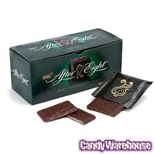 after eight thin mint squares 25 box candywarehouse