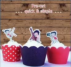 betty boop cake topper 34 best party betty boop images on betty boop